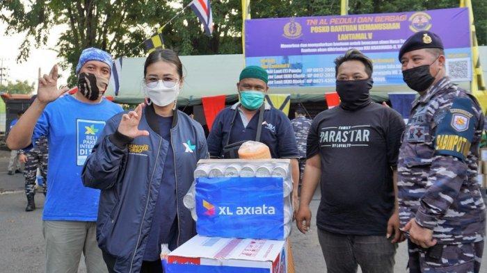 Bencana Alam di NTT dan Jawa Timur,XL Axiata Salurkan Bantuan dan Layanan Gratis