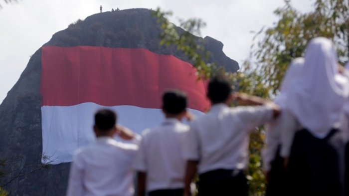 Pengibaran Bendera Raksasa Jadi Momentum Kenalkan Pariwisata Gunungkidul