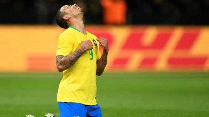 Berawal Sebagai Pengecat Jalan Menjadi Striker Timnas Brasil, Mimpi Gabriel Jesus Menjadi Nyata