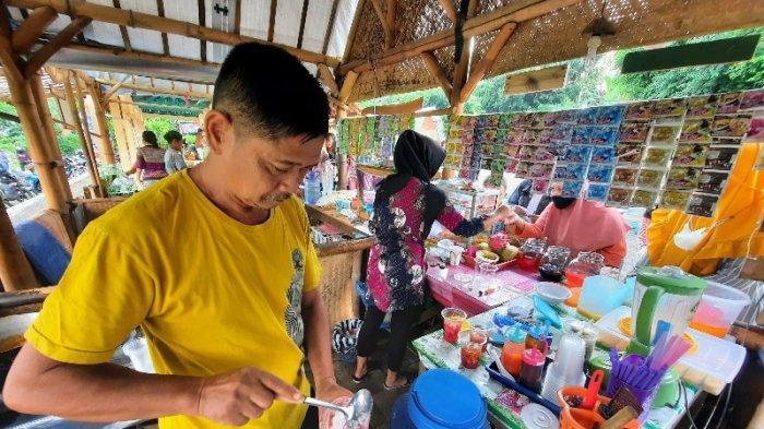 Berburu Takjil Serba Rp1.000 di Pasar Kuliner Argo Midang Bejiharjo