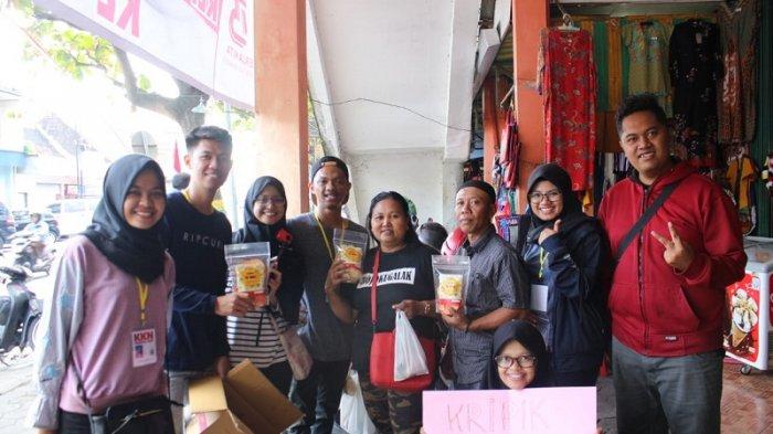 Berdayakan Potensi Lokal, Mahasiswa KKN UMY Rintis Usaha Kripik Talas dan Wingko