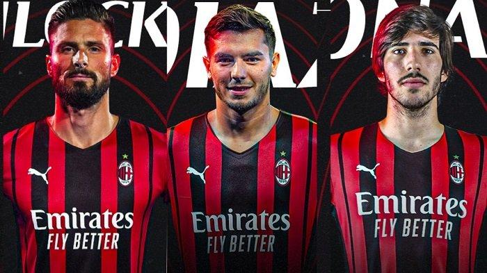 Rekrutan AC Milan di bursa transfer musim panas kemarin.