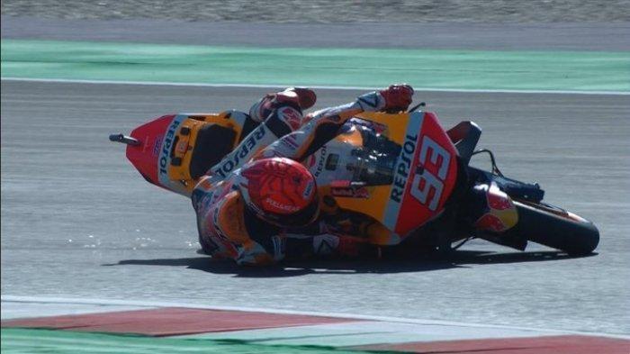 Berita Moto GP: Gaya Marc Marquez Tunggangi RC213V Bakal Ditiru Rider Honda Lainnya