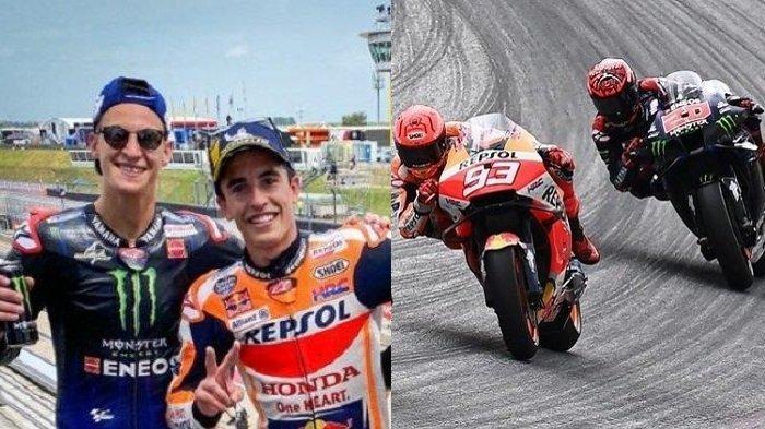 MotoGP 2021 - Marc Marquez dan Fabio Quartararo