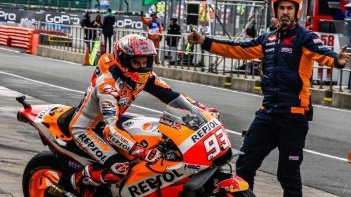 Berita MotoGP 2021: Inilah Target Penting Marc Marquez Saat Kembali Balapan di Moto GP Portugal