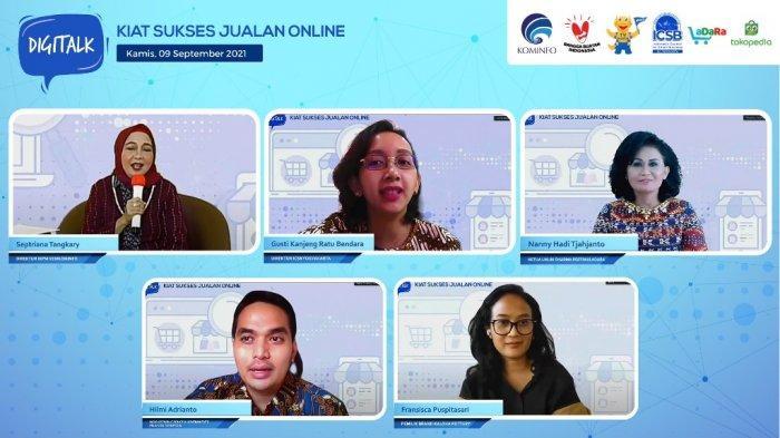 Bertahan di Masa Pandemi Covid-19, UMKM Didorong untuk Jualan Online