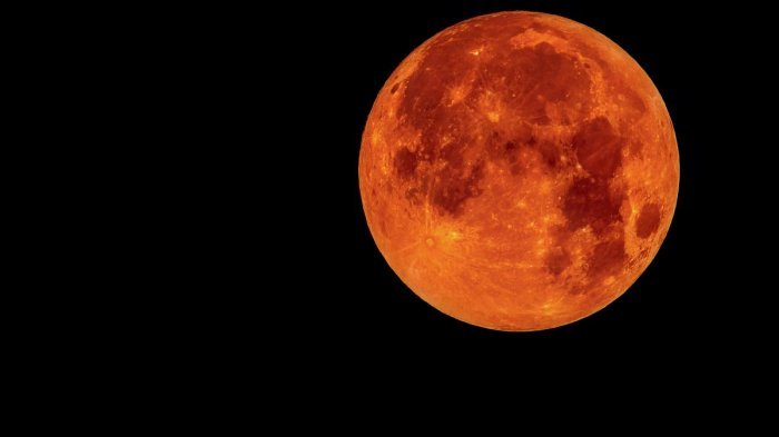 Gerhana Bulan Blood Moon Terjadi Minggu Depan, Ini Niat dan Tata Cara Jalankan Shalat Gerhana Bulan