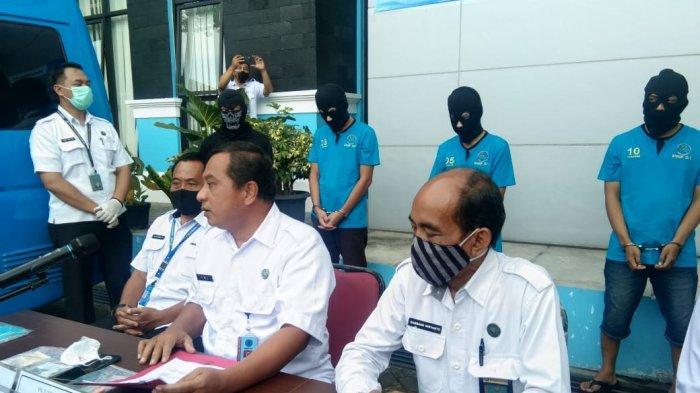 BNNP DIY Tangkap Kurir Narkotika Beserta Barang Bukti 61,08 gram Shabu