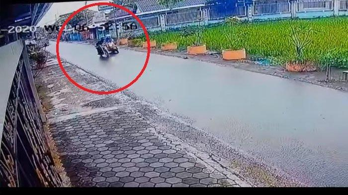 Bobi Saputro Widodo (BSW), pelaku penjambretan Ibu Guru yang aksinya terekam kamera CCTV dan viral di media sosial ternyata seorang residivis.