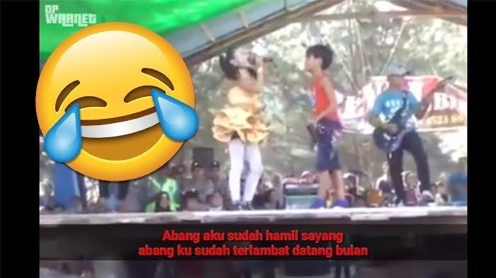Prihatin, Kids Zaman Now Nyanyi 'Hamil Sama Setan', Syairnya Sayang-sayangan