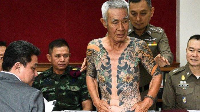 Kabur 14 Tahun, Mantan Bos Yakuza Jepang Tertangkap Gara-gara Foto Tato Kerennya Viral