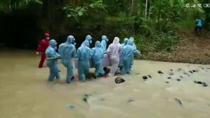 BPBD Kulon Progo Dampingi Proses Pemakaman Jenazah Covid-19 di Kapanewon Kalibawang