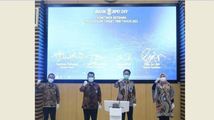 Setahun Pandemi Covid-19 Penyaluran Kredit Bank BPD DIY Tumbuh Positif
