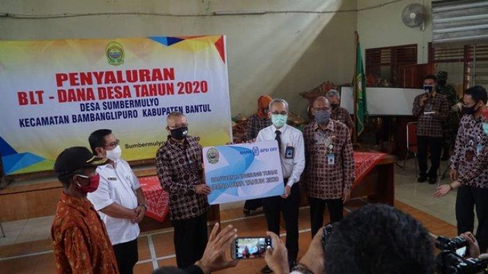 Bank BPD DIY Dukung Distribusi BLT Dana Desa di Kabupaten Bantul