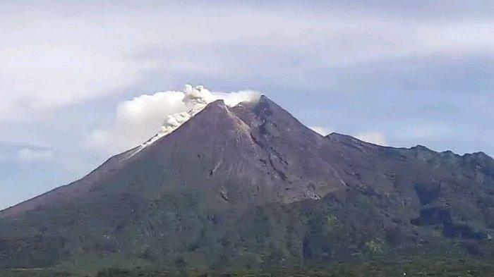BPPTKG : Kegempaan Menurun, Aktivitas Deformasi Gunung Merapi Masih Tinggi