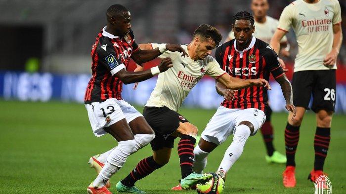 Brahim Diaz di laga uji coba Nice vs AC Milan
