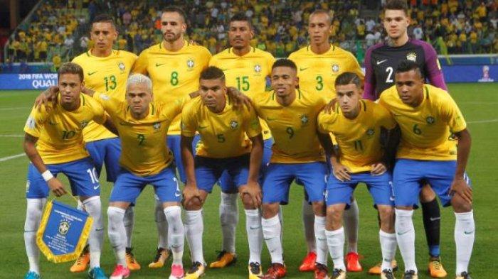 Cetak Rekor, Brasil Jadi Tim Tersubur Sepanjang Sejarah Gelaran Piala Dunia