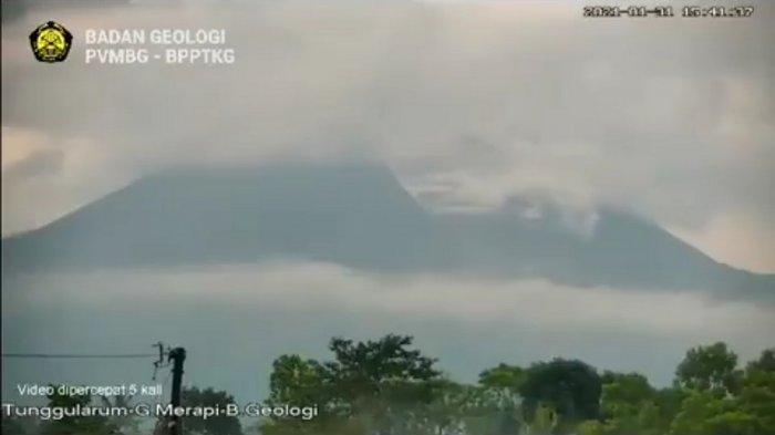 Sebanyak 12 Barak Pengungsian Disiapkan di Sepanjang Ring Gunung Merapi