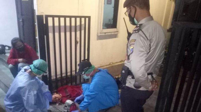 BREAKING NEWS : Perempuan Asal Gunungkidul Tergeletak Pingsan di Depan Rumah Makan di Terban
