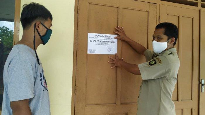 BREAKING NEWS : Seorang Pegawai Positif COVID-19, Kantor Kalurahan Demangrejo Ditutup Sementara