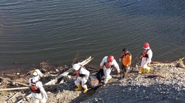 BREAKING NEWS : Tak Pulang Karena Pikun, Jasad Seorang Kakek Ditemukan Mengapung di Sungai Progo