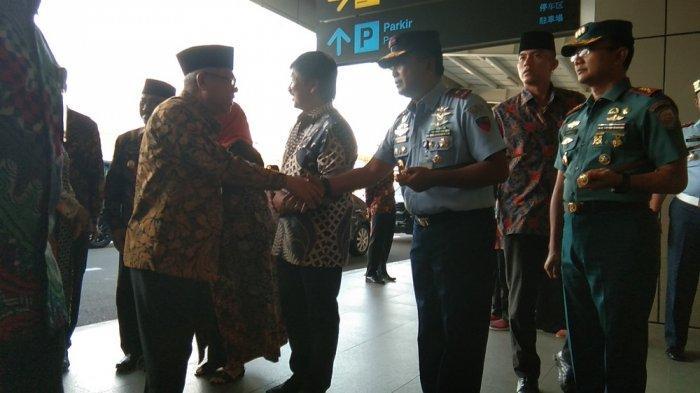 BREAKING NEWS : Wakil Presiden Ma'ruf Amin Tiba di Bandara YIA
