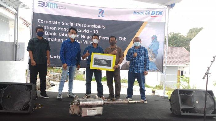 BTN Yogyakarta Gelar CSR Bantuan Fogging COVID-19 untuk Masyarakat