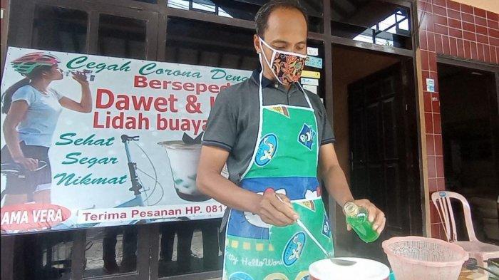 UNIK, Warga Sebokarang Kulon Progo Produksi Tape Lidah Buaya, Dipasarkan Hingga Luar Kota