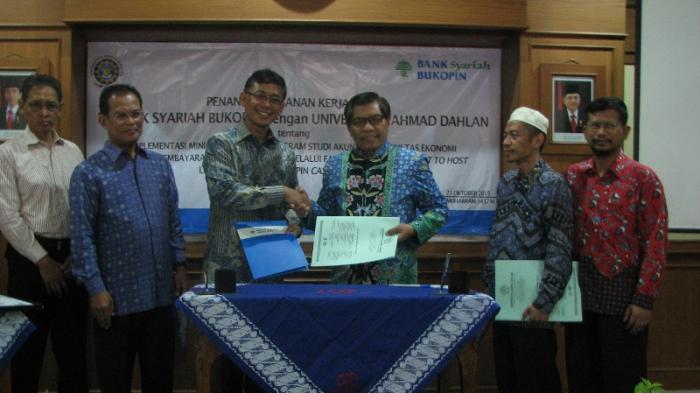 Bank Syariah Bukopin Buka Mini Bank di UAD