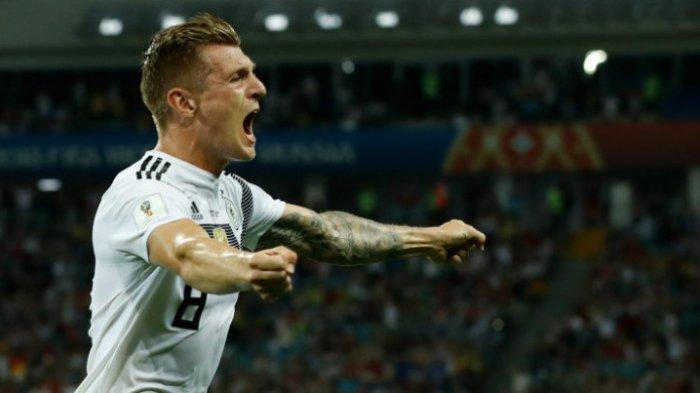 Toni Kroos Cetak Gol Spektakuler Berkat Sepatu Andalan yang Digunakan pada Piala Dunia 2014