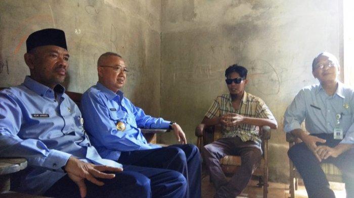Bupati Suharsono Bantu Pengobatan Heri Supriyanto, Warga Bantul yang Hidup Tanpa Sinar Matahari