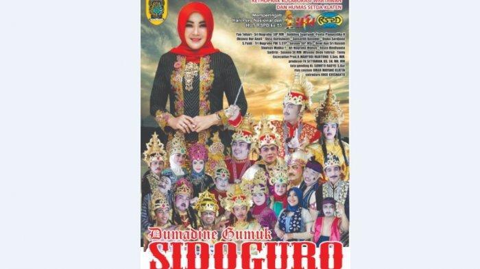 Wartawan, Humas dan Pejabat Klaten Pentas Ketoprak Tampilkan Cerita Dumadining Bukit Sidoguro