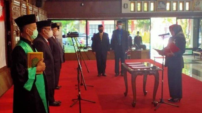 Bupati Klaten Sri Mulyani Lantik 3 Kepala Dinas, Ini Daftarnya