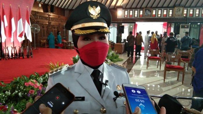 Resmi Dilantik Jadi Bupati Klaten, Ini Dua Fokus Program Sri Mulyani di Tahun 2021