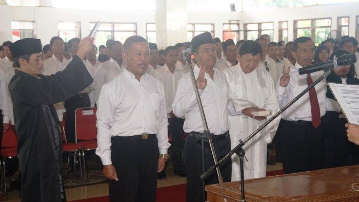 Bupati Magelang Lantik 2.576 Anggota BPD, Mereka Diharapkan Jadi Agen Perubahan