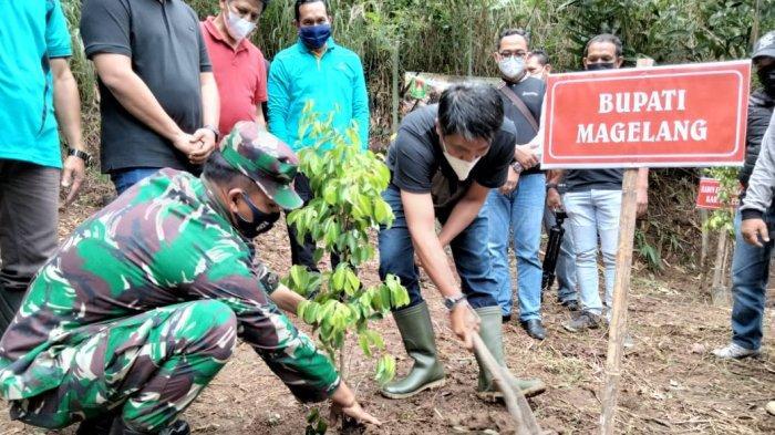 Merti Kali Brengkal Kabupaten Magelang, Upaya Jaga Sumber Air di Lereng Merbabu