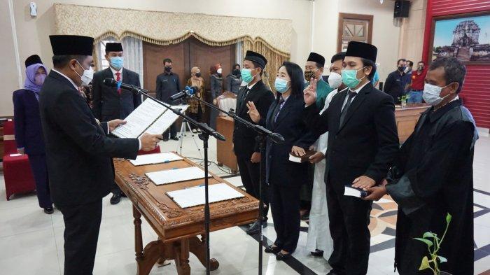 Bupati Zaenal Arifin Lantik Ratusan Pejabat Fungsional Pemkab Magelang