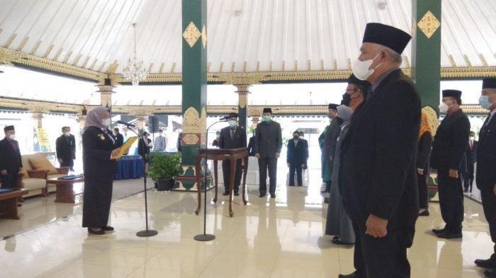 Bupati Sleman Lantik 9 Pejabat Tinggi Pratama