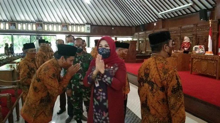 Bupati Sri Mulyani Minta FKDM Ambil Peran Jaga Kondusifitas dalam Menghadapi Pilkada Klaten 2020