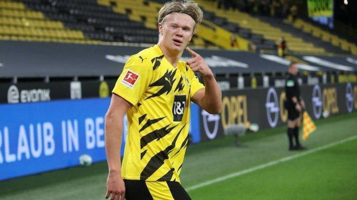 CHELSEA: Kabar Transfer Haaland ke The Blues, Abramovich Nego Dortmund