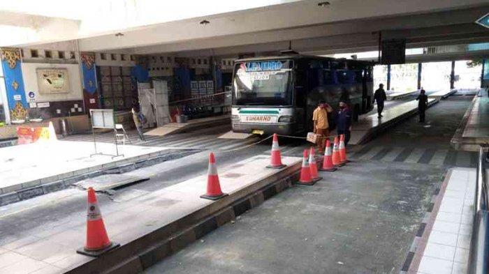 Bus AKAP Mulai Masuk Terminal Giwangan Yogyakarta, Tapi Tingkat Keterisian Masih Rendah