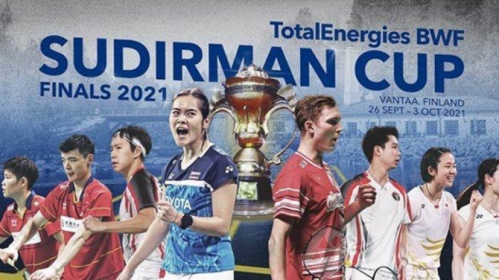 Jadwal Pertandingan dan Siaran Langsung Tim Bulu Tangkis Indonesia di Sudirman Cup 2021