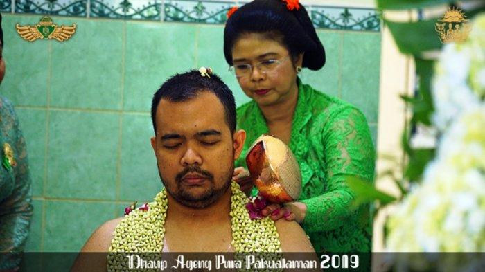 Dhaup Ageng Puro Pakualaman: Calon Pengantin Jalani Tradisi Siraman