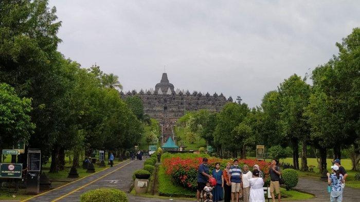 Selama 2020 Tingkat Kunjungan Wisatawan ke Candi Borobudur Magelang Merosot Tajam Akibat Pandemi