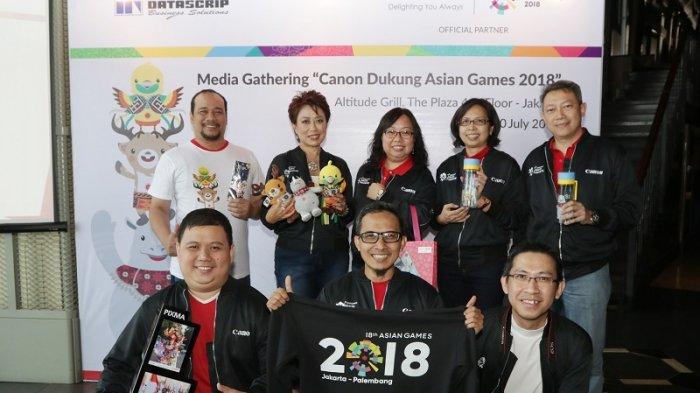 Canon dan Datascrip Berikan Dukungan Terbaik untuk Penyelenggaraan Asian Games 2018