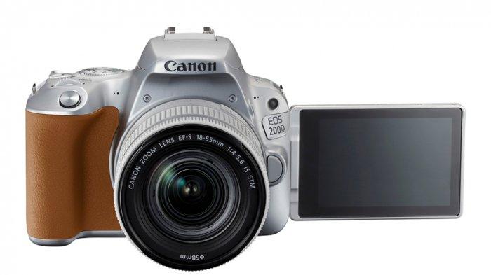 Canon Luncurkan EOS 200D, Kamera DSLR Trendi nan Mungil