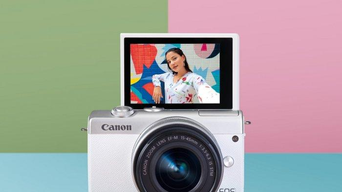 Canon Hadirkan Kamera Mirrorless Canon EOS M200