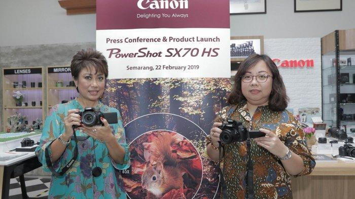 Canon Luncurkan PowerShot SX70 HS, Kamera Ringkas Berteknologi 4K