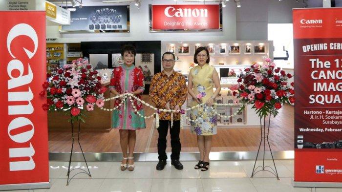 Datascrip dan Canon Hadirkan Canon Image Square ke-13di Surabaya