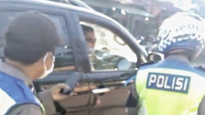 Naik Fortuner, Oknum Anggota Polisi Marah Disetop Petugas karena Tak Pakai Masker, Sanksi Menantinya